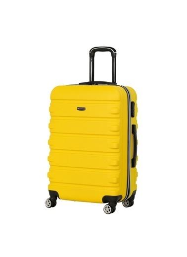 Travelsoft Bavul Sarı